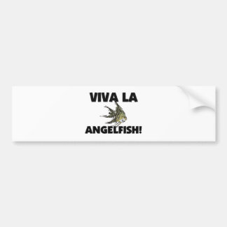 Viva La Angelfish Car Bumper Sticker