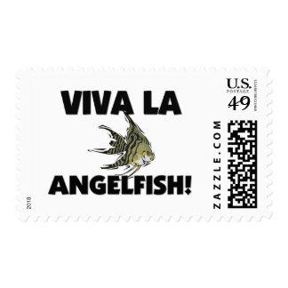 Viva La Angelfish Postage Stamp