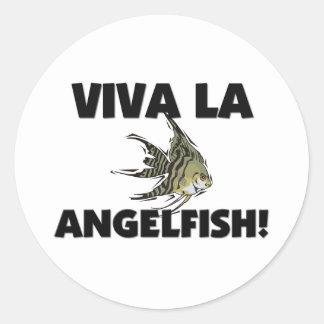 Viva La Angelfish Sticker