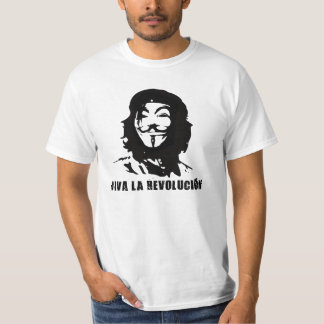Viva La Anonymous Tee Shirt