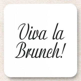 Viva La Brunch Drink Coaster