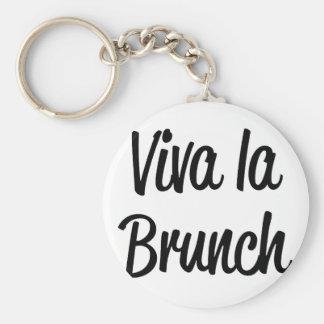 Viva La Brunch Keychain