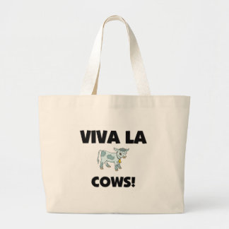 Viva La Cows Jumbo Tote Bag