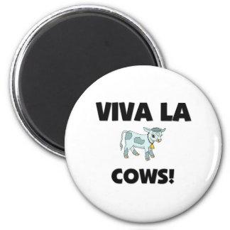 Viva La Cows 2 Inch Round Magnet