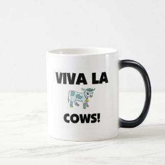 Viva La Cows 11 Oz Magic Heat Color-Changing Coffee Mug
