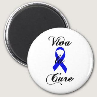 Viva la Cure - Blue Ribbon Magnet