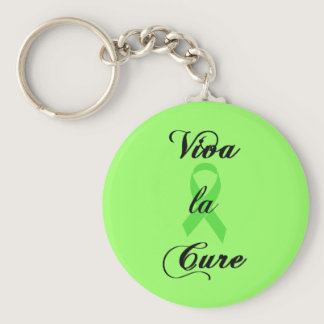Viva la Cure - Green Ribbon Keychain