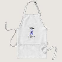 Viva la Cure - Lavender Ribbon General Cancer Adult Apron