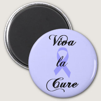 Viva la Cure - Lavender Ribbon General Cancer Magnet