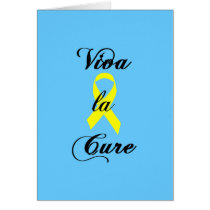 Viva la Cure - Yellow Ribbon