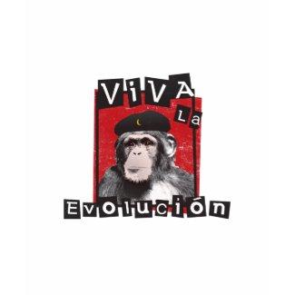 Viva la Evolucion Ape shirt