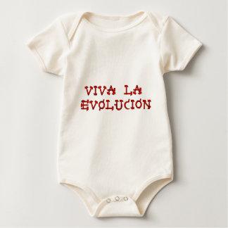 Viva La Evolucion Baby Bodysuit
