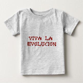 Viva La Evolucion Baby T-Shirt