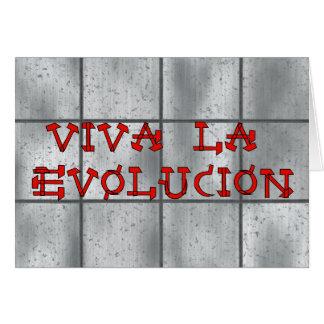 Viva La Evolucion Card