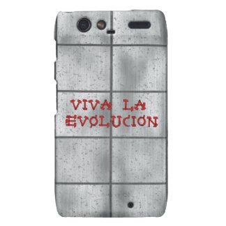 Viva La Evolucion Motorola Droid RAZR Cases