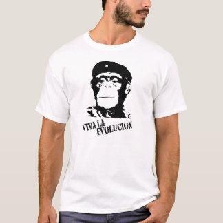Viva La Evolucion - Chimp T-Shirt
