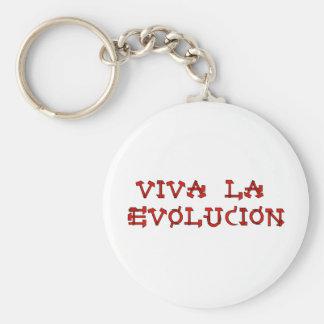Viva La Evolucion Keychain