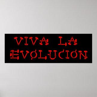 Viva La Evolucion Posters