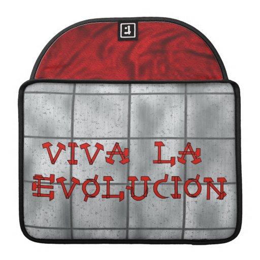 Viva La Evolucion Sleeves For MacBooks