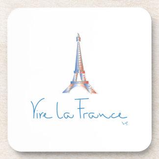 Viva La France French Beverage Coaster