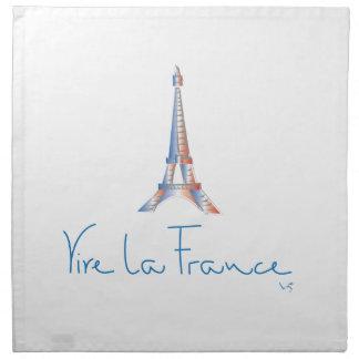 Viva La France French Cloth Napkin