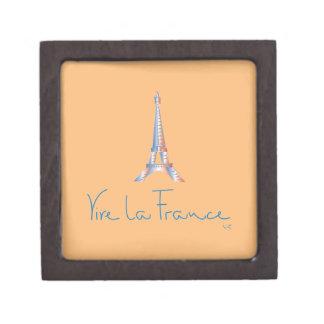 Viva La France French Jewelry Box