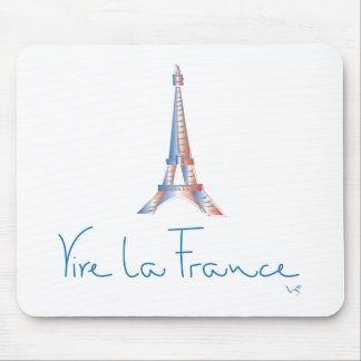 Viva La France French Mouse Pad