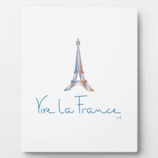 Viva La France French Plaque