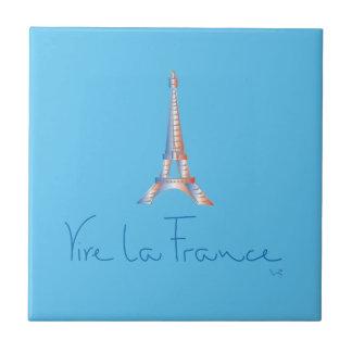 Viva La France French Tile