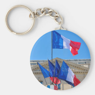 Viva la France Keychain