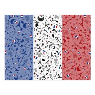 Viva la France Postcard