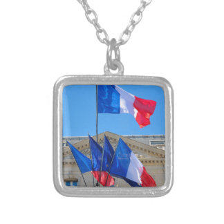 Viva la France Silver Plated Necklace
