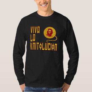 Viva la Knitolucion long sleeve t-shirt