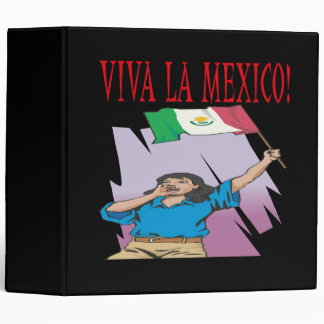 Viva La Mexico Binder