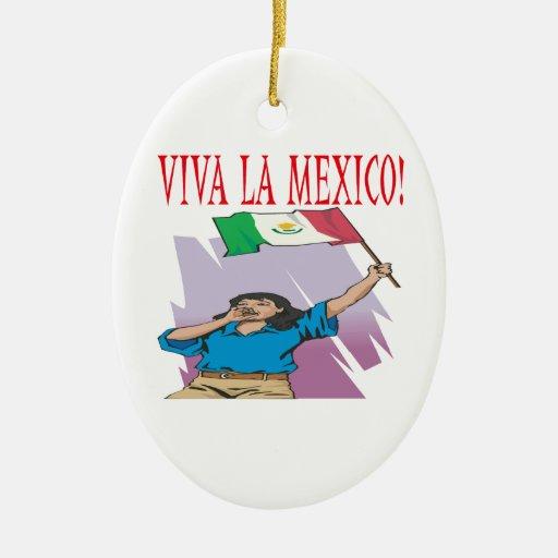 Viva La Mexico Ornaments