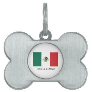 Viva la Mexico Pet ID Tag