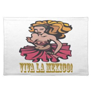 Viva La Mexico Place Mat
