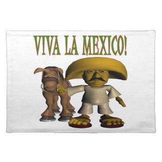 Viva La Mexico Place Mats