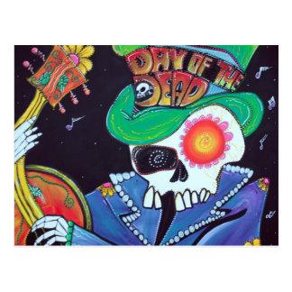 Viva La Muerte Postcard