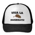 Viva La Muskrats Mesh Hat