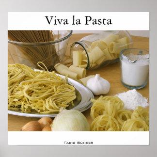 Viva la Pasta Poster