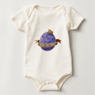 Viva La Pluto Baby Bodysuit