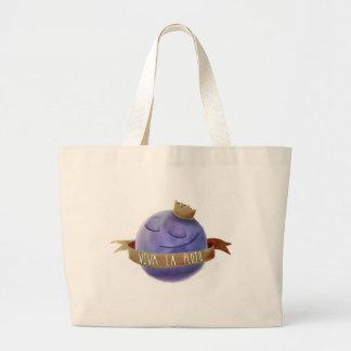 Viva La Pluto Large Tote Bag