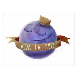 Viva La Pluto Postcard
