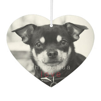 Viva La Pretty Chihuahua Car Air Freshener