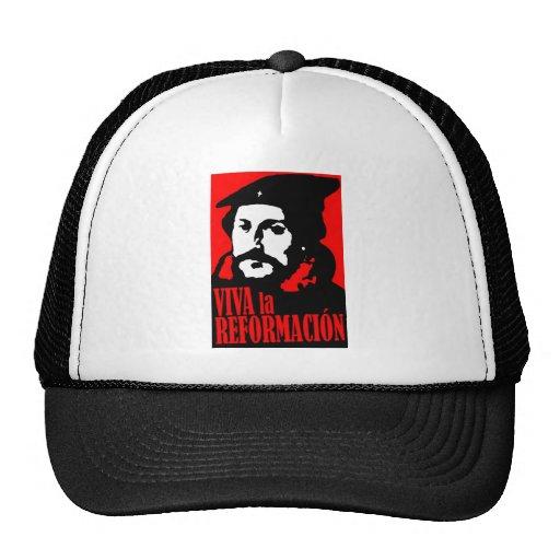 Viva la Reformacion CALVIN Trucker Hat