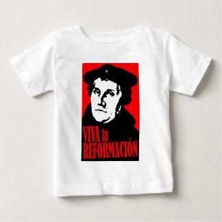 Viva la Reformacion LUTHER Baby T-Shirt