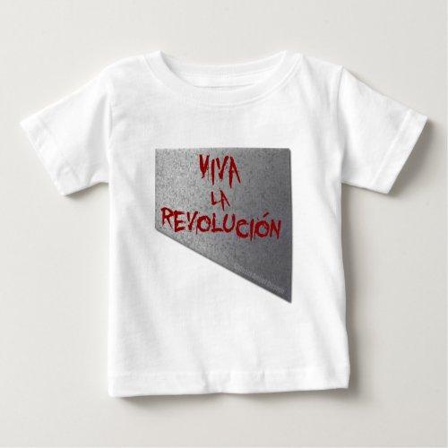 Viva la Revolucion Guillotine Baby T_Shirt