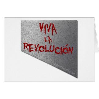 Viva la Revolucion Guillotine Card
