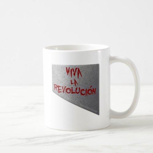 Viva la Revolucion Guillotine Coffee Mug